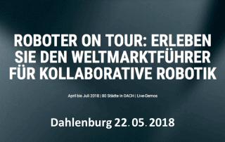 UR Roadshow in Dahlenburg Banner