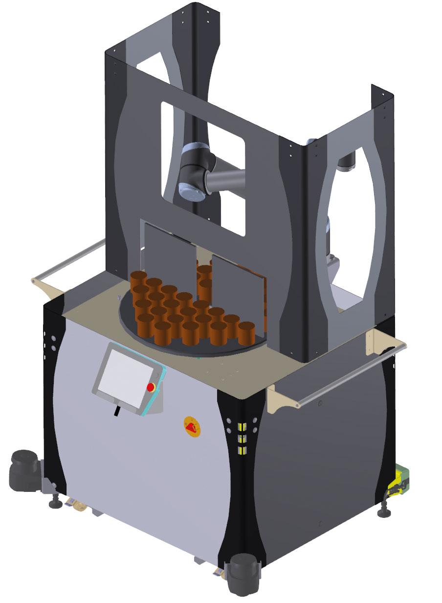 FLS mit Werzeugspeicher für Simultanbestückung