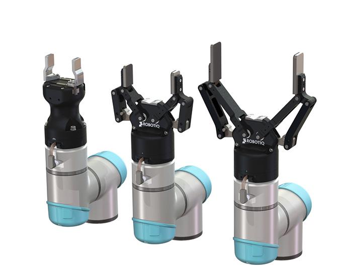 Robotiq 3 Greifer nebeneinander