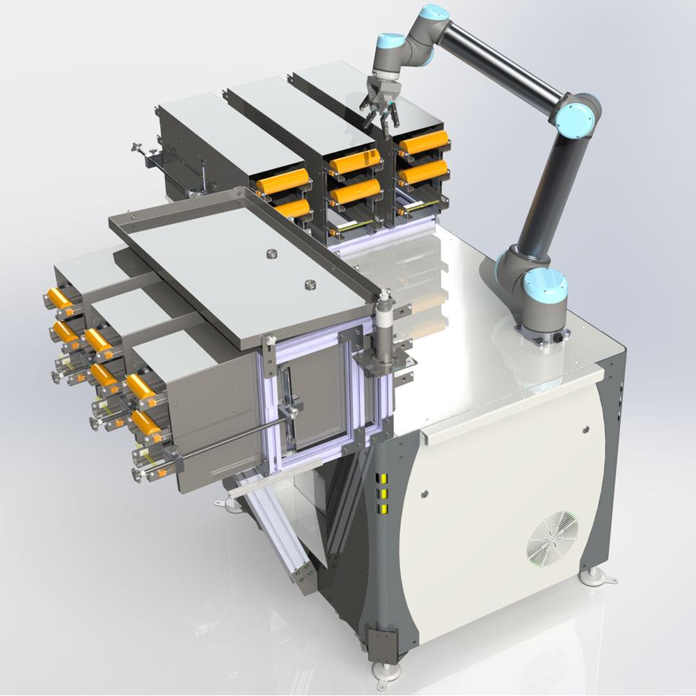 Flex Load System mit Wellenspeicher