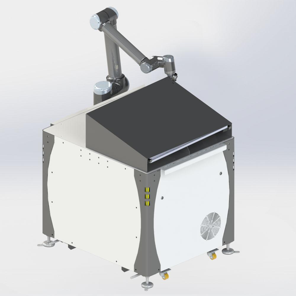 Grundgestell des FLS in 3D