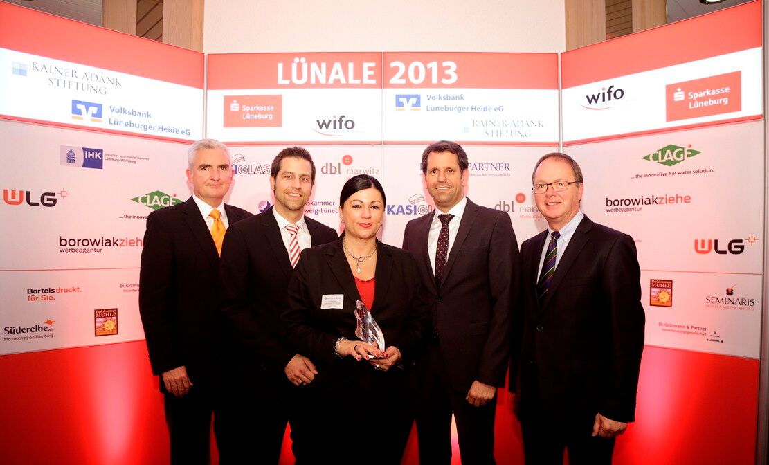 Lünale Lüneburg 2013 GF Nadine & Thomas Lorenscheit mit Preis