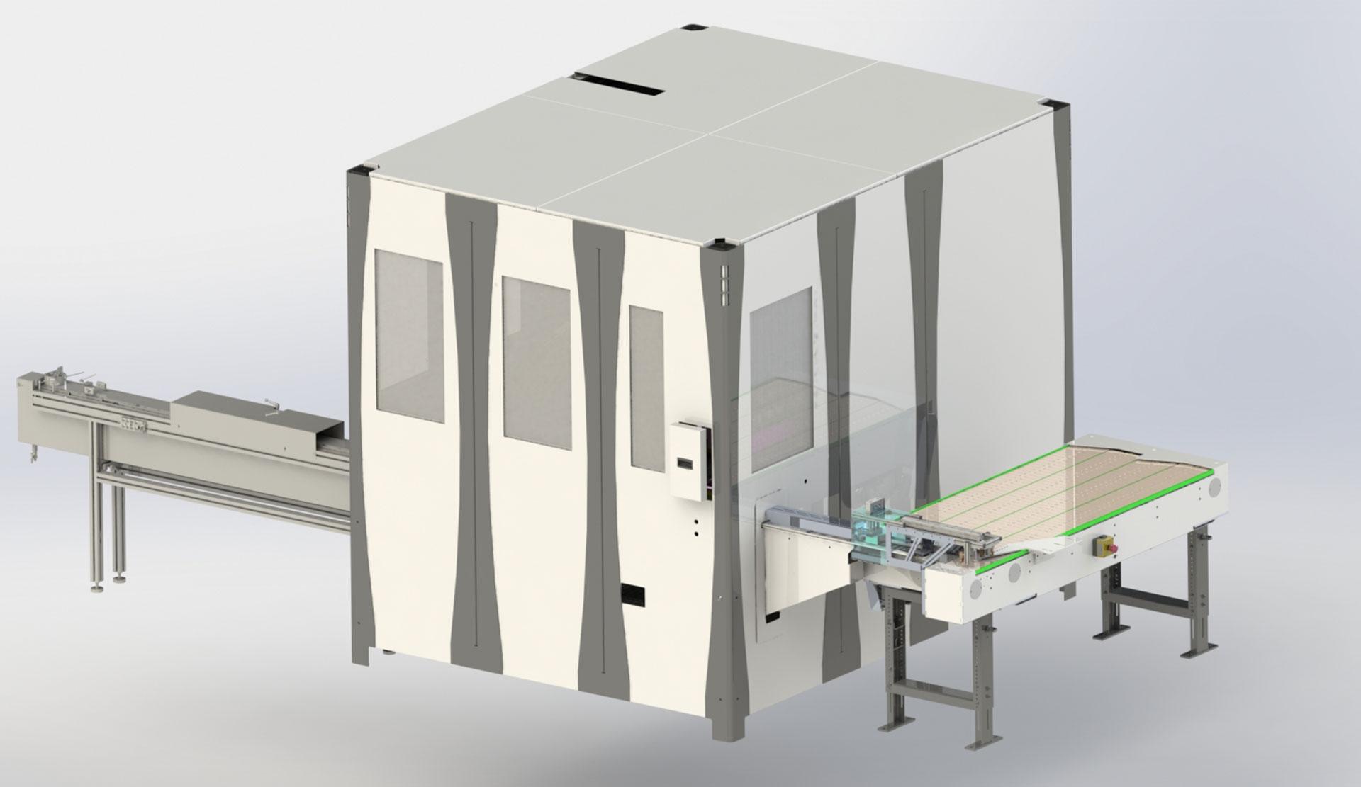 Flex Robot Cell mit Werkstückspeicher