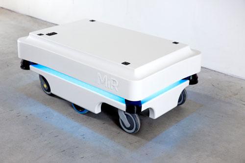 Mir mit blauen LED Streifen