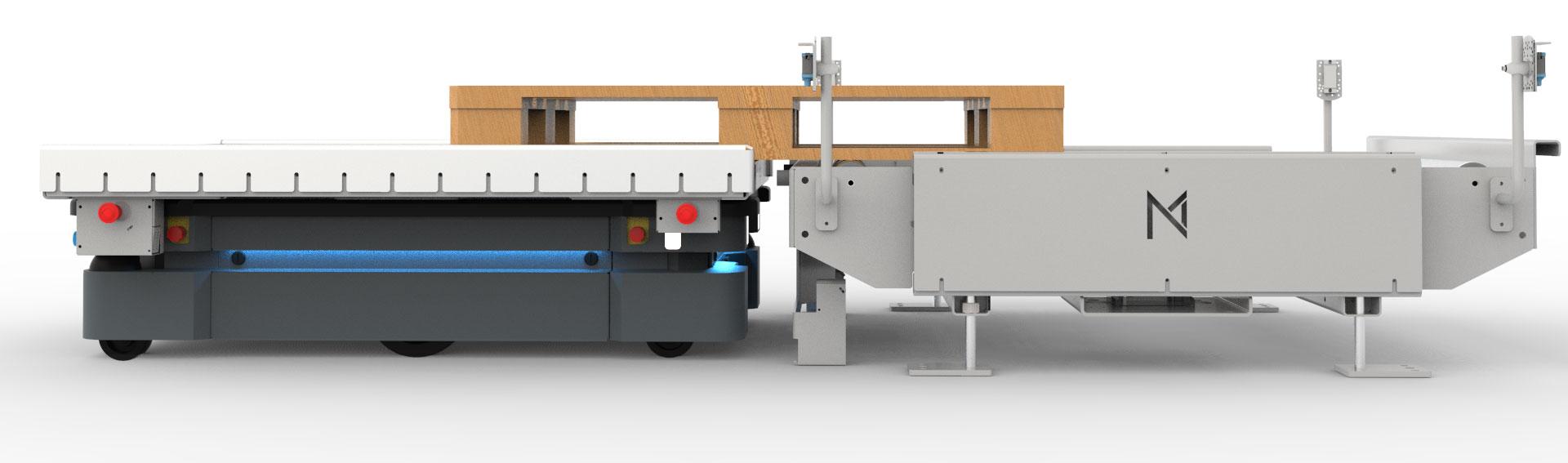 Nord Modules Pallet Mover mit MiR