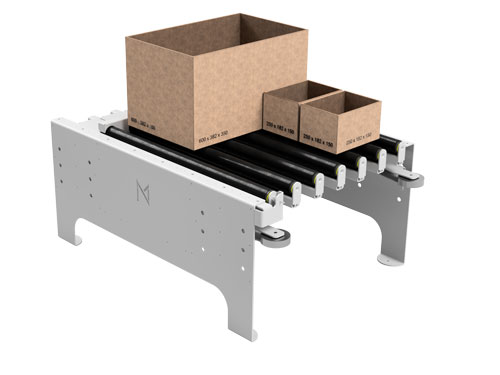 Roll Gate mit Paketen