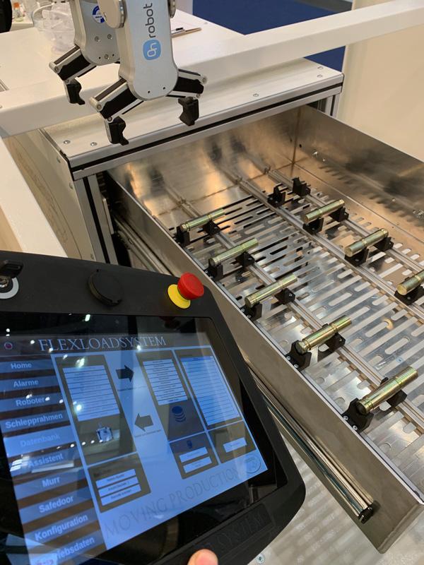 HMI des Flex Load System