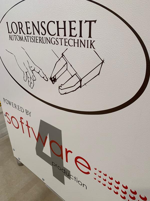 Lorenscheit Logo mit Software4production