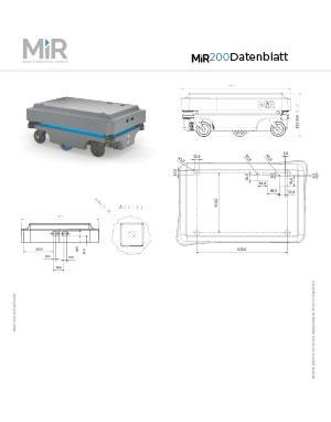 MiR200 Datenblatt