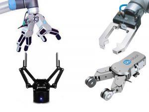 Auswahl an Cobot Greifer