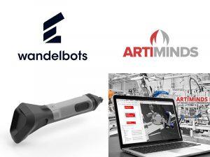 Cobot Programmierung Wandelbots und Artiminds